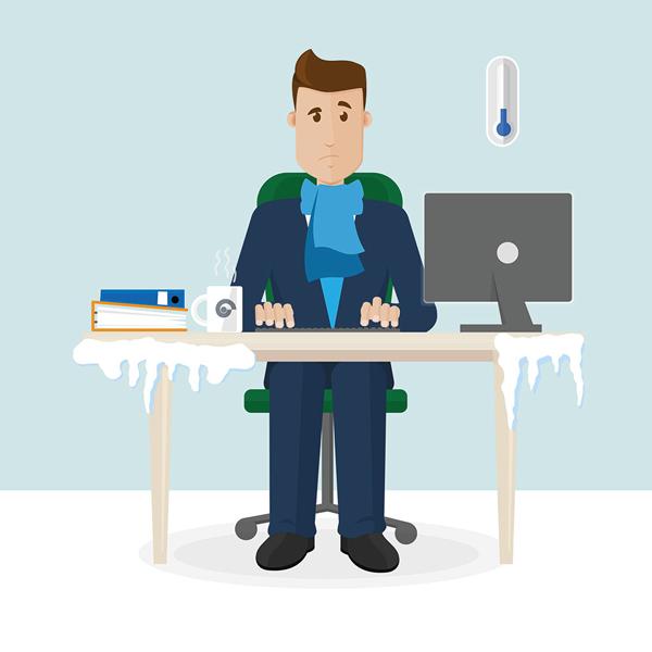 Hatékony iroda- és üzlethelyiség-fűtés, elektromos készülékekkel