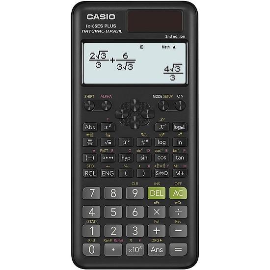 Casio FX-85ES Plus 2 számlógép tudományos 15 és 10 + 2 számjegy 252 funkció