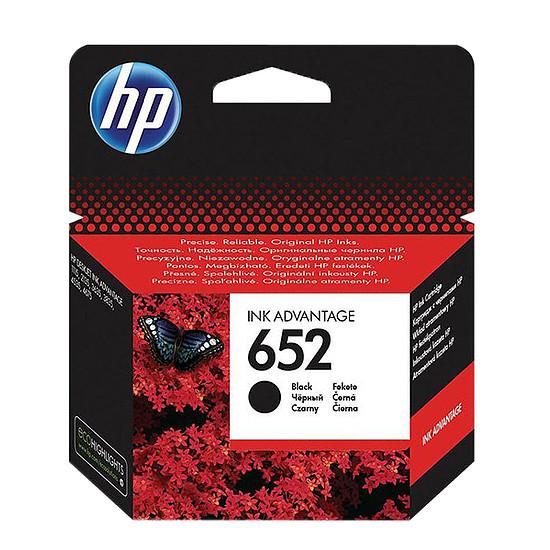 HP F6V25AE No.652 Black tintapatron eredeti