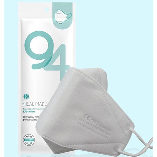 O2 WEAR KF94 maszk FFP2 4 rétegű fehér 1 db-os csomagolásban